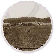 Presidio Of Monterey, Cal. Circa 1910 Round Beach Towel