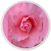 Pretty In Pink Round Beach Towel