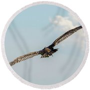 Prey Bird Round Beach Towel