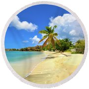 Prickly Bay Wide Round Beach Towel