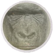 Primate Round Beach Towel