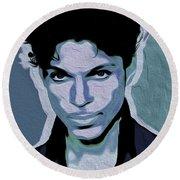 Prince #05 Nixo Round Beach Towel