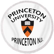 Princeton University Princeton Nj. Round Beach Towel