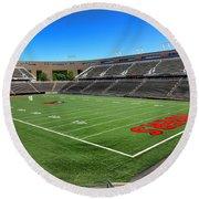 Princeton University Stadium Powers Field Round Beach Towel