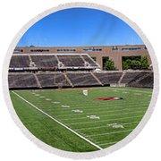 Princeton University Stadium Powers Field Panoramic Round Beach Towel