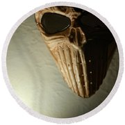Mask One Round Beach Towel