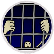 Prisoner Round Beach Towel