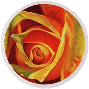 Promise Of A New Beginning Round Beach Towel