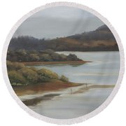 Promise Of A New Day Round Beach Towel