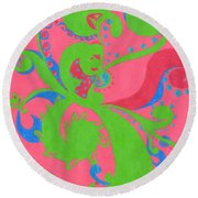Prosperity Round Beach Towel
