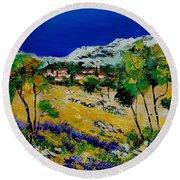 Provence 569060 Round Beach Towel