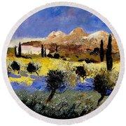 Provence 674525 Round Beach Towel