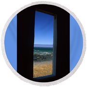 Punta Gorda - The Lost Coast Round Beach Towel