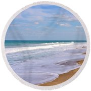 Pure Beach Round Beach Towel