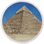 Pyramid Round Beach Towel