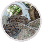 Qingdao Moon Gate Round Beach Towel