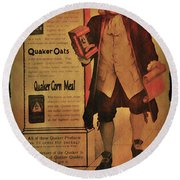 Quaker Quality Round Beach Towel by Bill Cannon