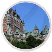 Quebec City 59 Round Beach Towel