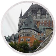 Quebec City 66 Round Beach Towel