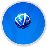 Quebec ... Round Beach Towel