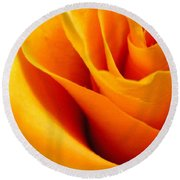 Queen Rose Round Beach Towel