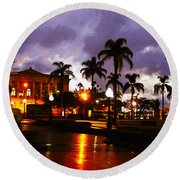Queens Park Round Beach Towel