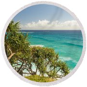 Queensland Coastline Round Beach Towel