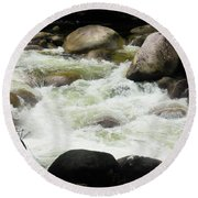 Quiet - Mossman Gorge, Far North Queensland, Australia Round Beach Towel