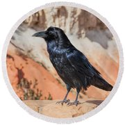 Quoth The Raven Round Beach Towel