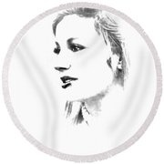Rachell Round Beach Towel