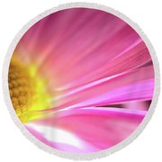 Radiant Glory Round Beach Towel