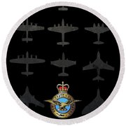 Raf100 - The Bombers Round Beach Towel