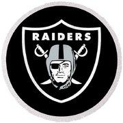 Raiders  Round Beach Towel