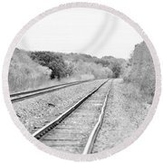Rails 004 Round Beach Towel
