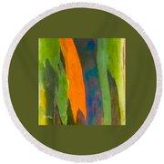 Rainbow Eucalyptus 5 Round Beach Towel