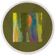 Rainbow Eucalyptus 9 Round Beach Towel