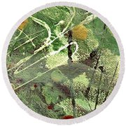 Rainforest Round Beach Towel