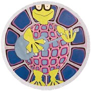 Ralph Round Beach Towel