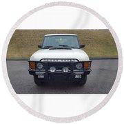 Range Rover Classic Round Beach Towel