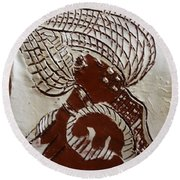 Rapture - Tile Round Beach Towel