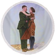 Ray And Isabel Round Beach Towel