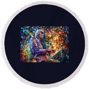 Ray Charles Round Beach Towel