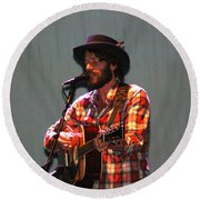 Ray Lamontagne-9039 Round Beach Towel