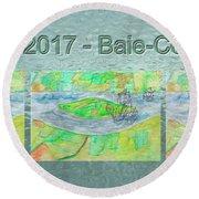 Rdv 2017 Baie-comeau Mug Shot Round Beach Towel