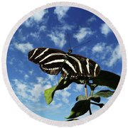 Ready For Liftoff Round Beach Towel