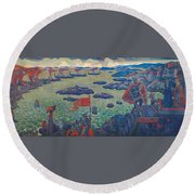 Ready For The Campaign, The Varangian Sea Round Beach Towel