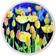 Real Artists Dont Paint Decorative Iv Round Beach Towel