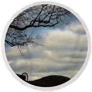 Reap The Wind Round Beach Towel