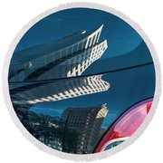 Rear Reflections Round Beach Towel