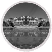 Reception Round Beach Towel